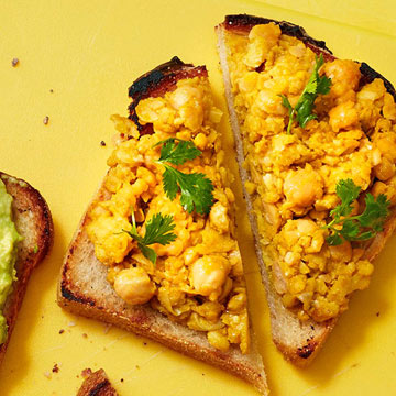 Spiced Chickpea Smash