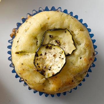 Zucchini Dill Muffins