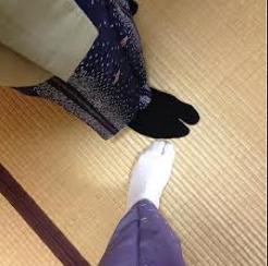 Kimono feet