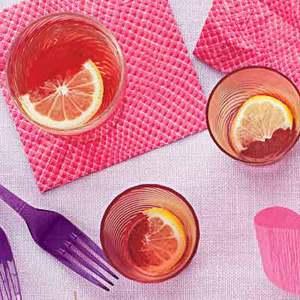 Pomegranate-Lemongrass Fizz