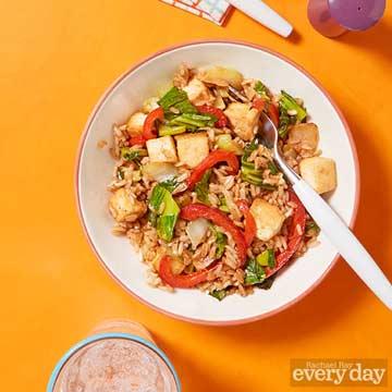 Ginger-Tofu Rice Bowl