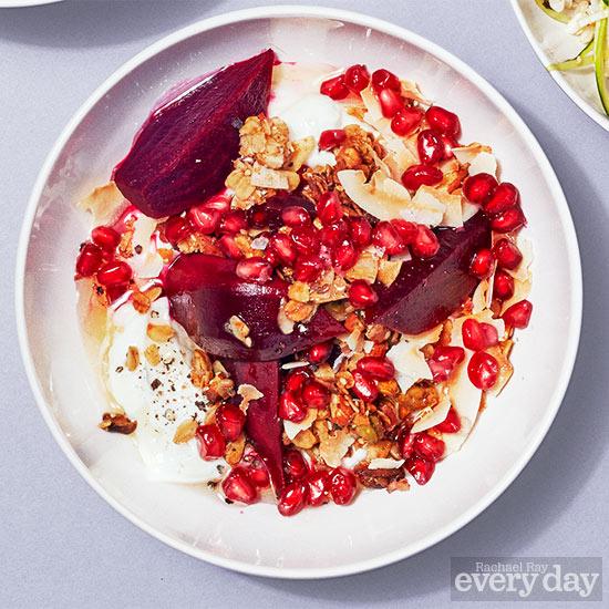 Roasted-Beet Breakfast Bowl