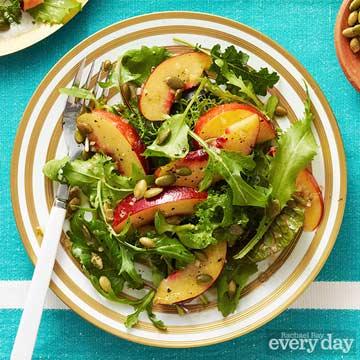 Nectarine Salad with Pepitas
