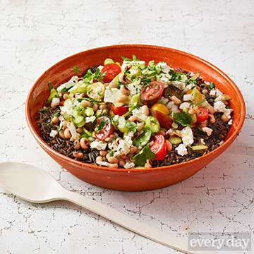 Wild Rice and Black-Eyed Pea Salad