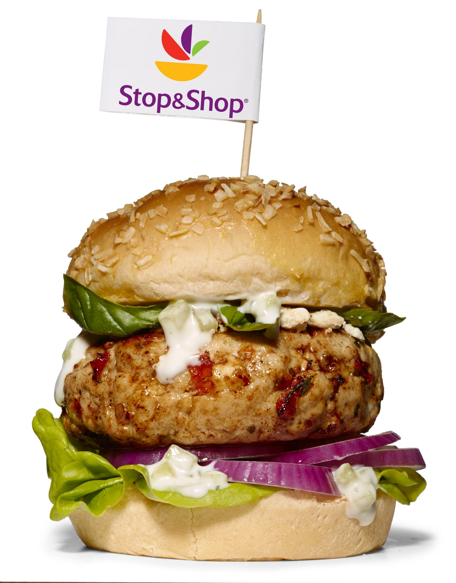Stop and Shop burger