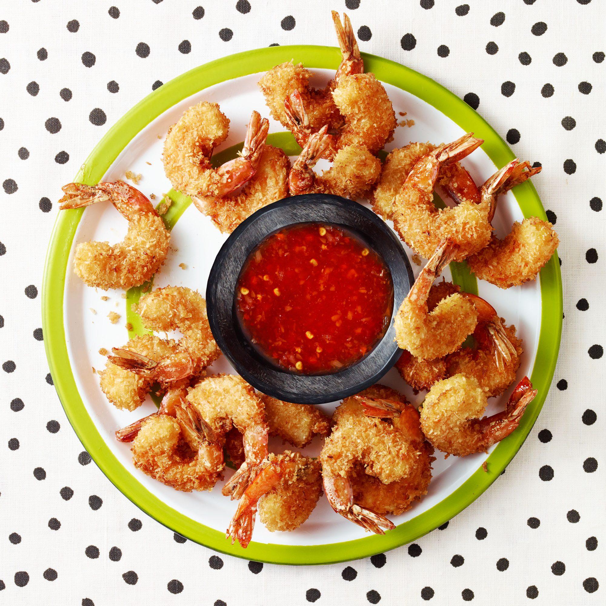 Coconut-Crunch Shrimp