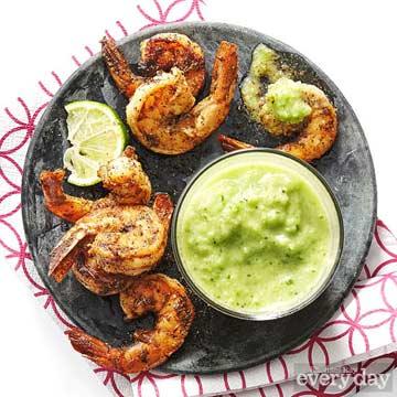 Shrimp & Green Gazpacho