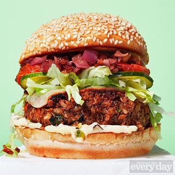 The Best-Ever Veggie Burger