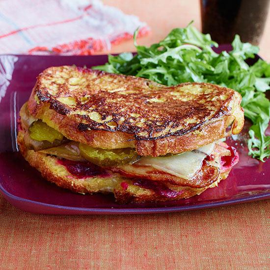 Turkey Bacon Monte Cristos