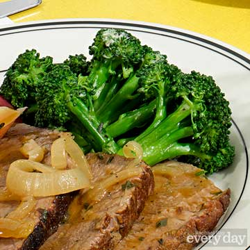 Broccoli with Herb Butter