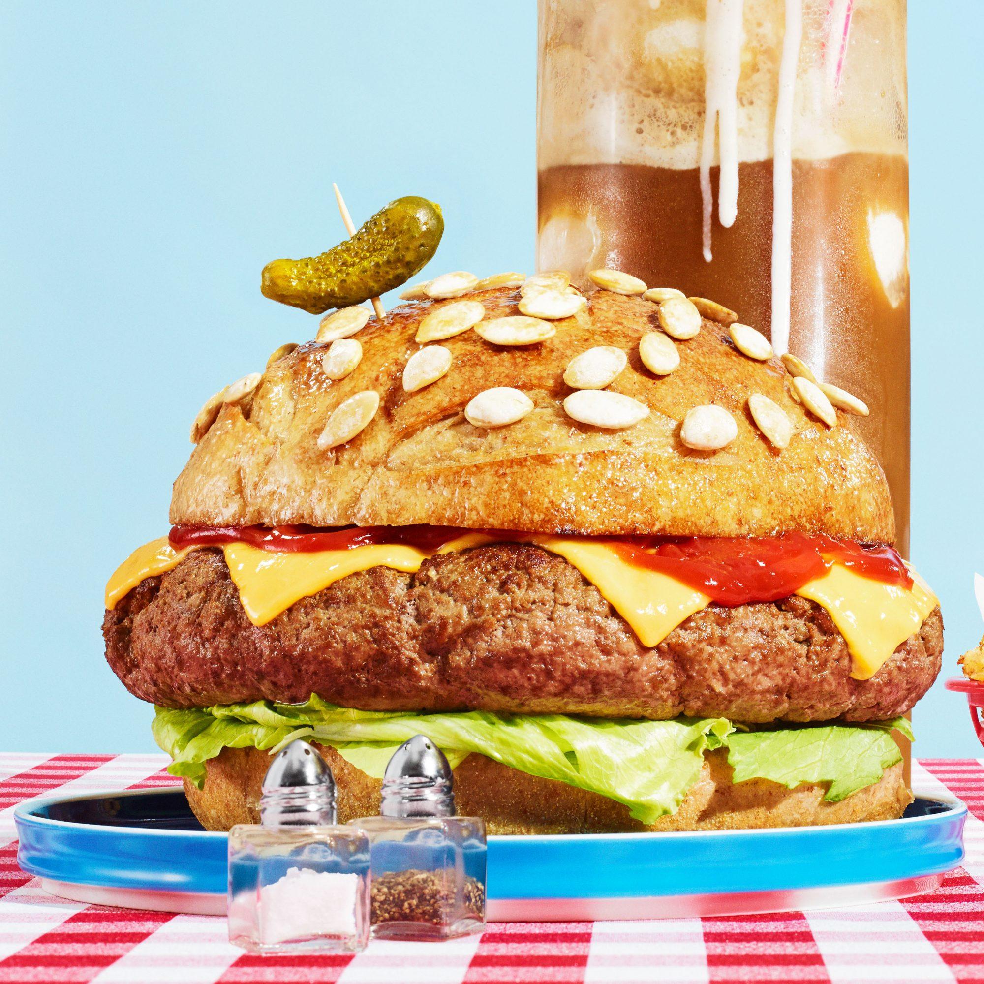 Colossal Cheeseburger