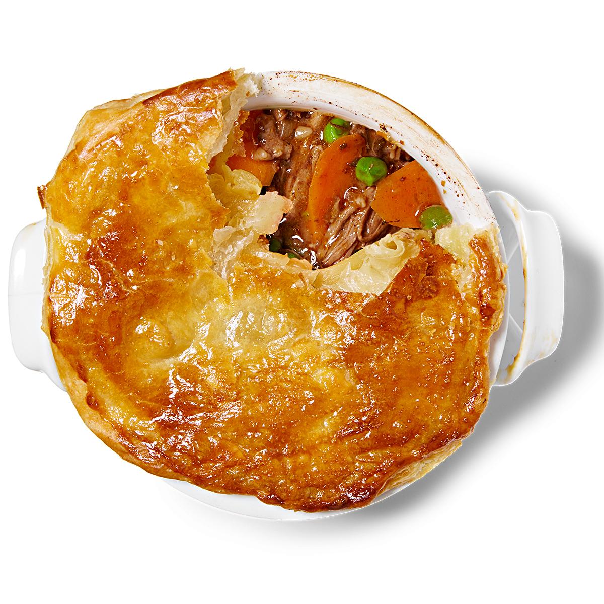 Easy Beef Pot Pies