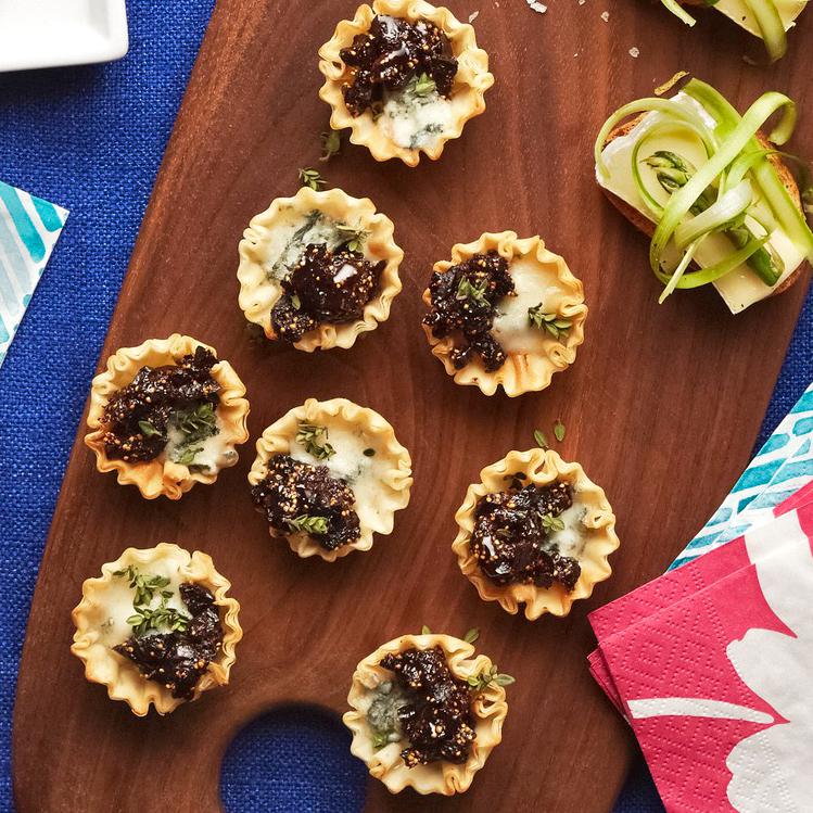 Fig & Gorgonzola Mini Tarts