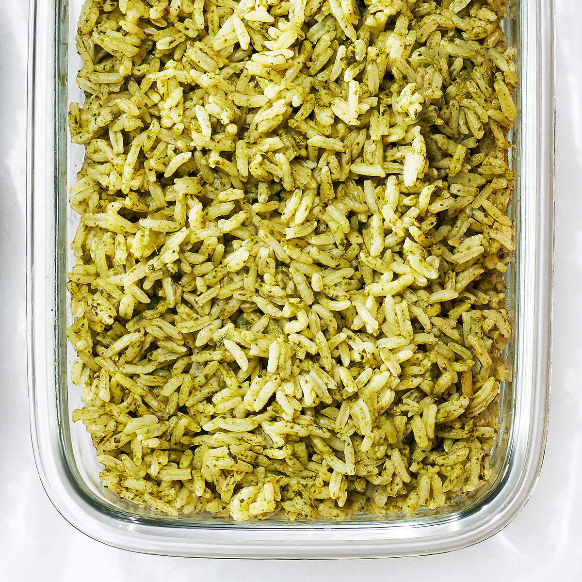 green rice pilaf