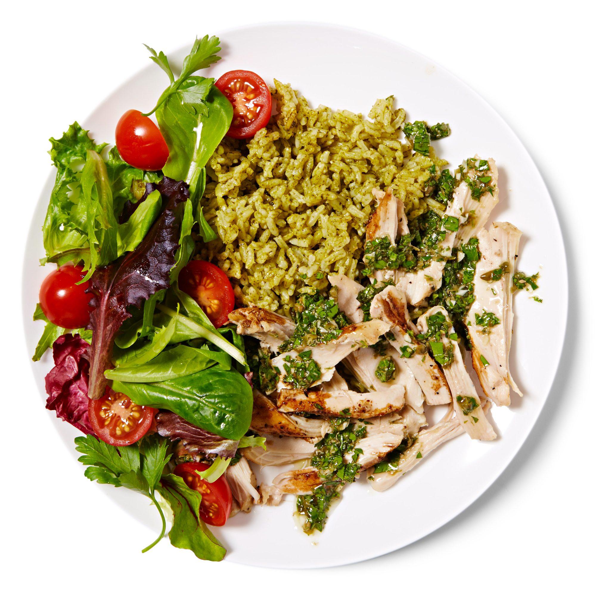 Mediterranean Chicken & Rice