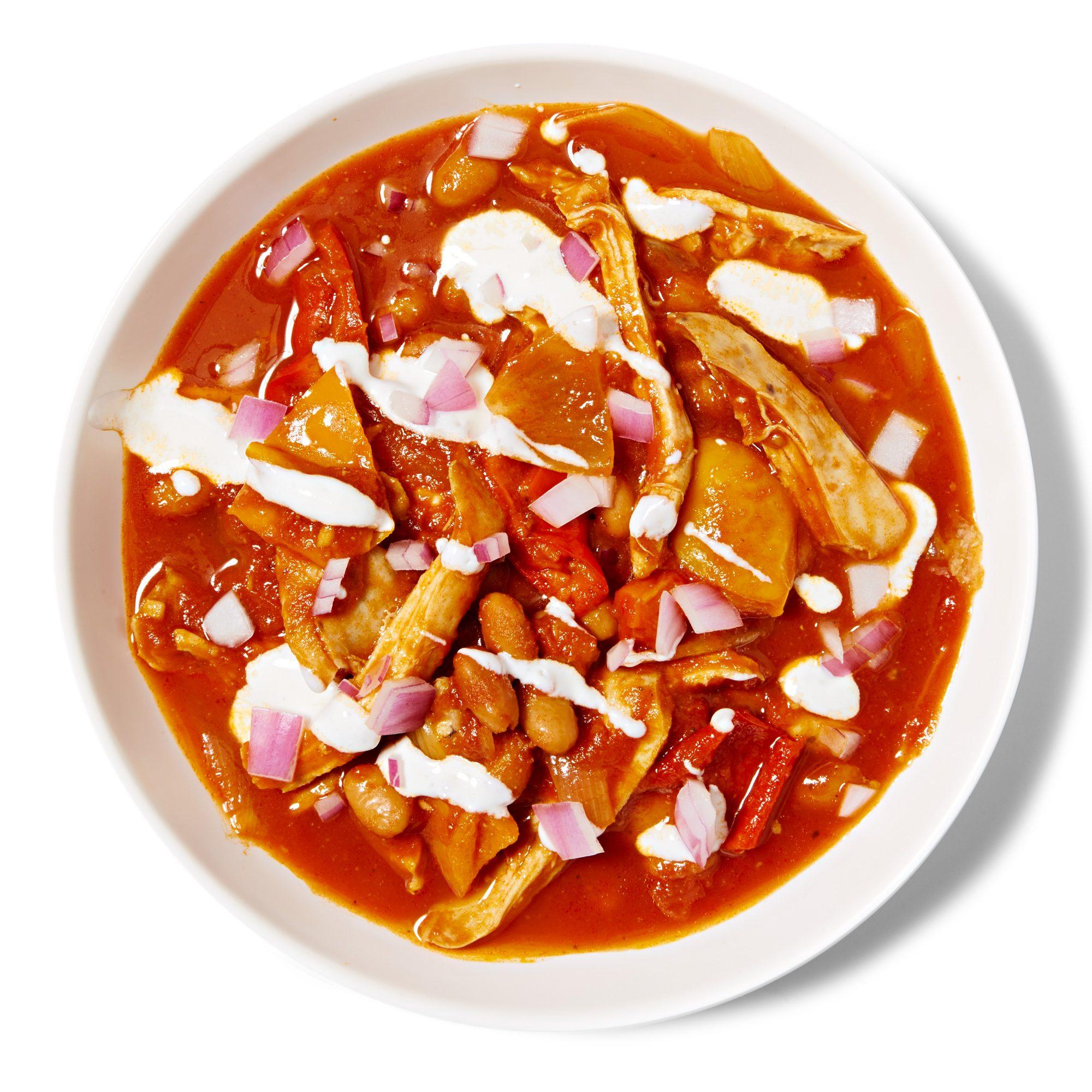 Smoky Chicken & Pinto Bean Chili