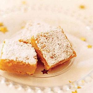 Golden Lemon orange bars