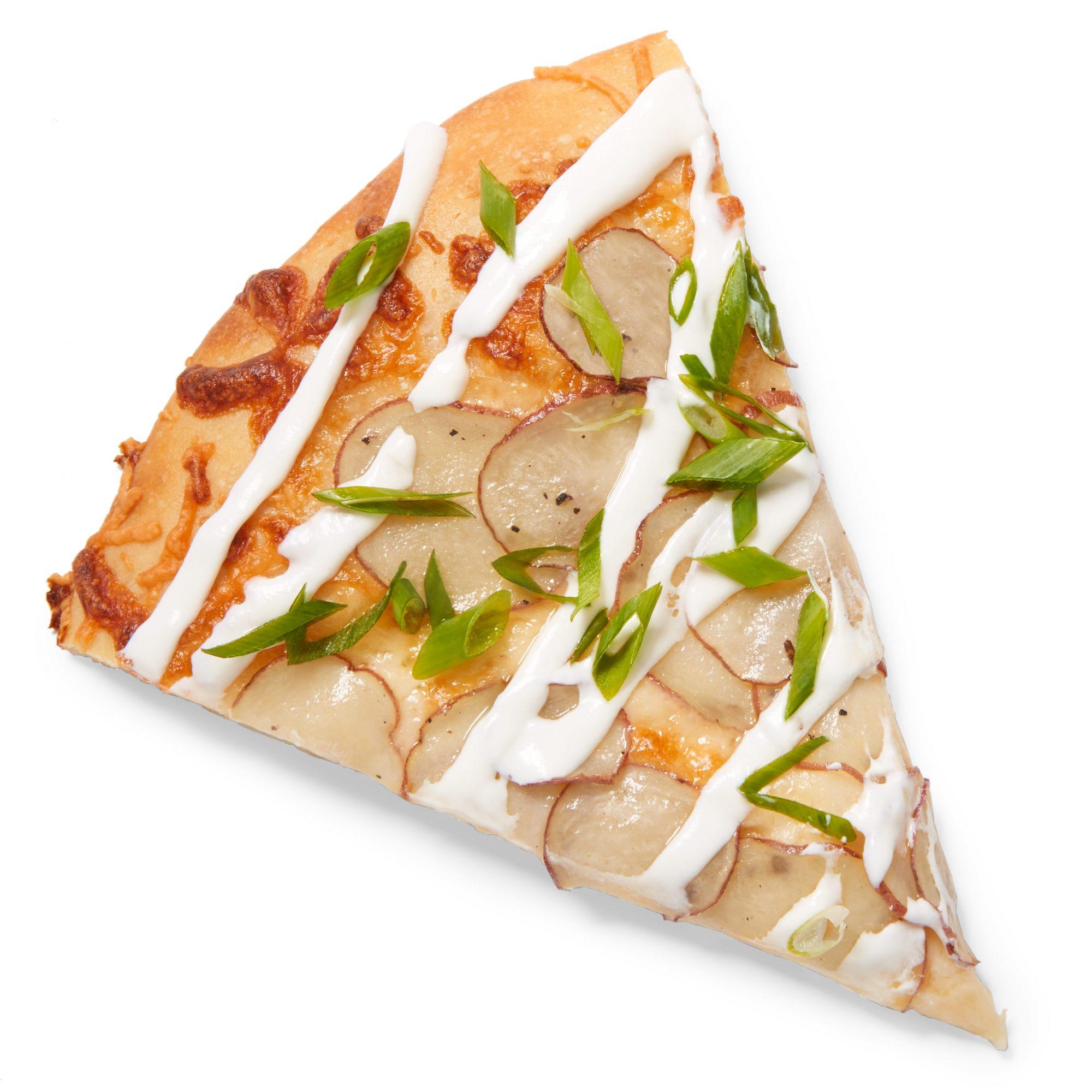 Sour Cream & Onion Potato Pizza