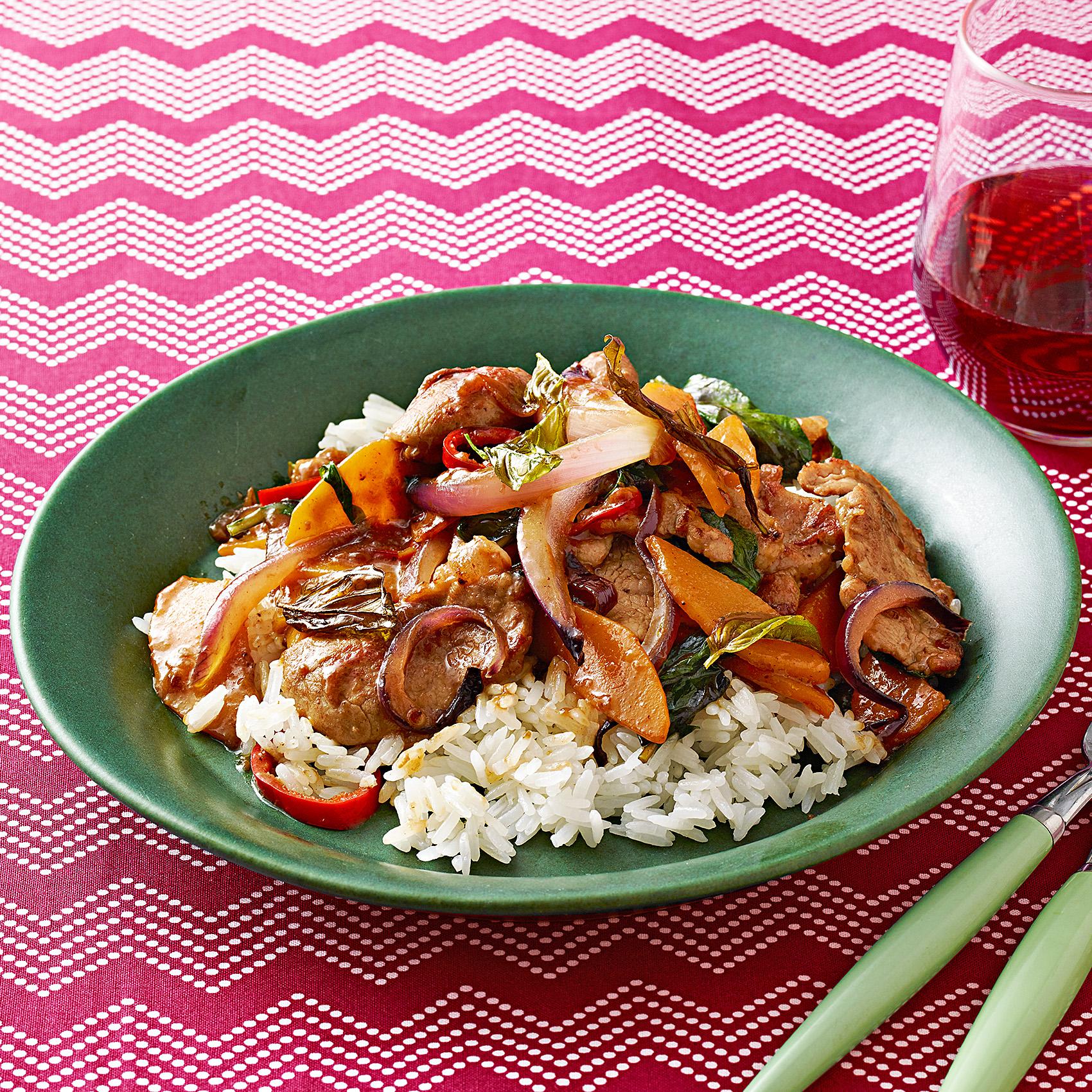pork squash stir-fry