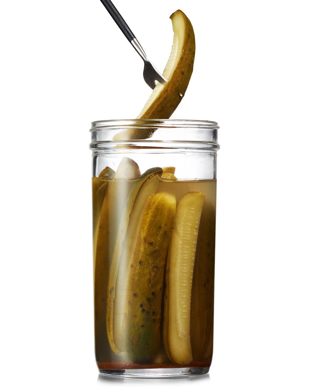 pumpkin spice quick pickles