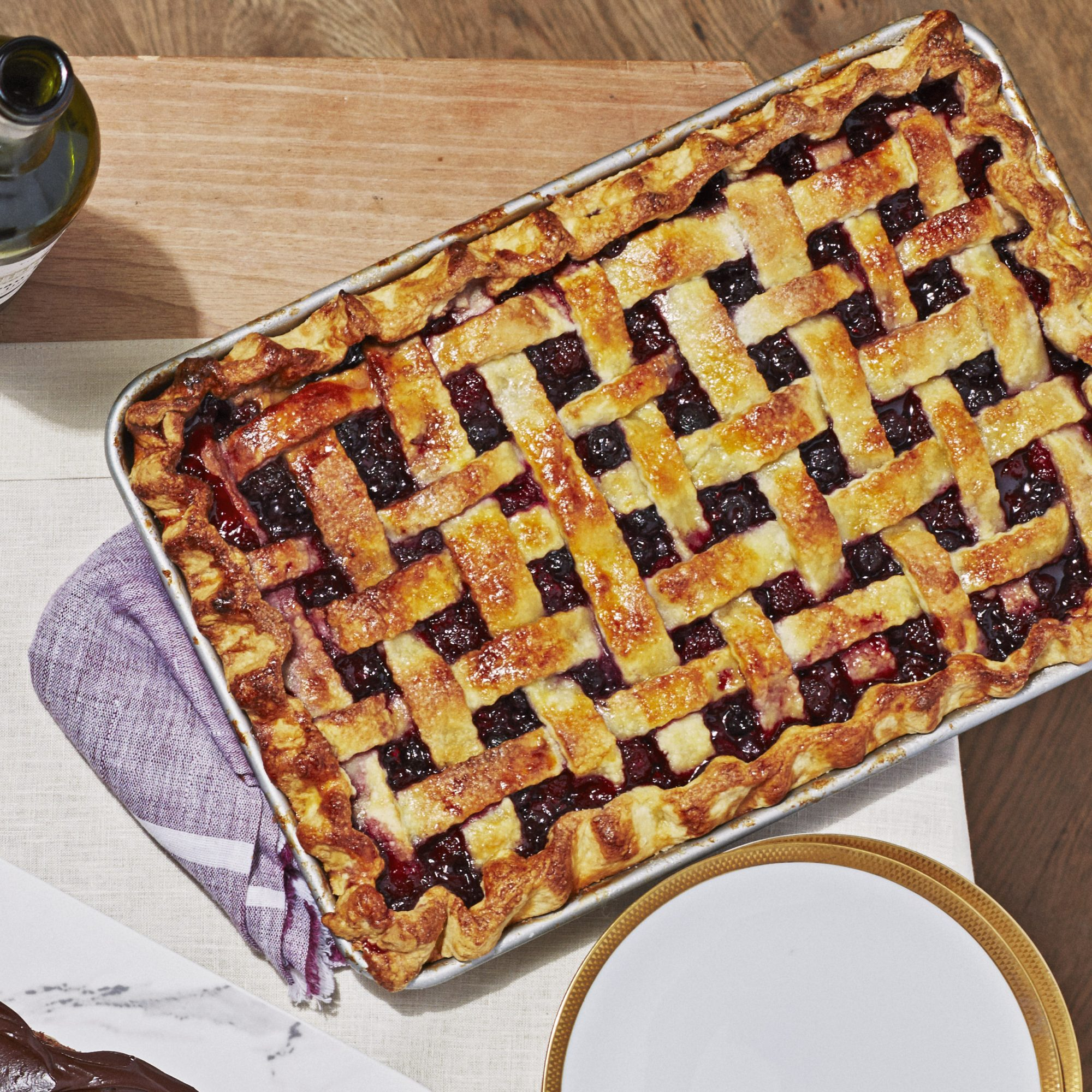 Berry Slab Tart