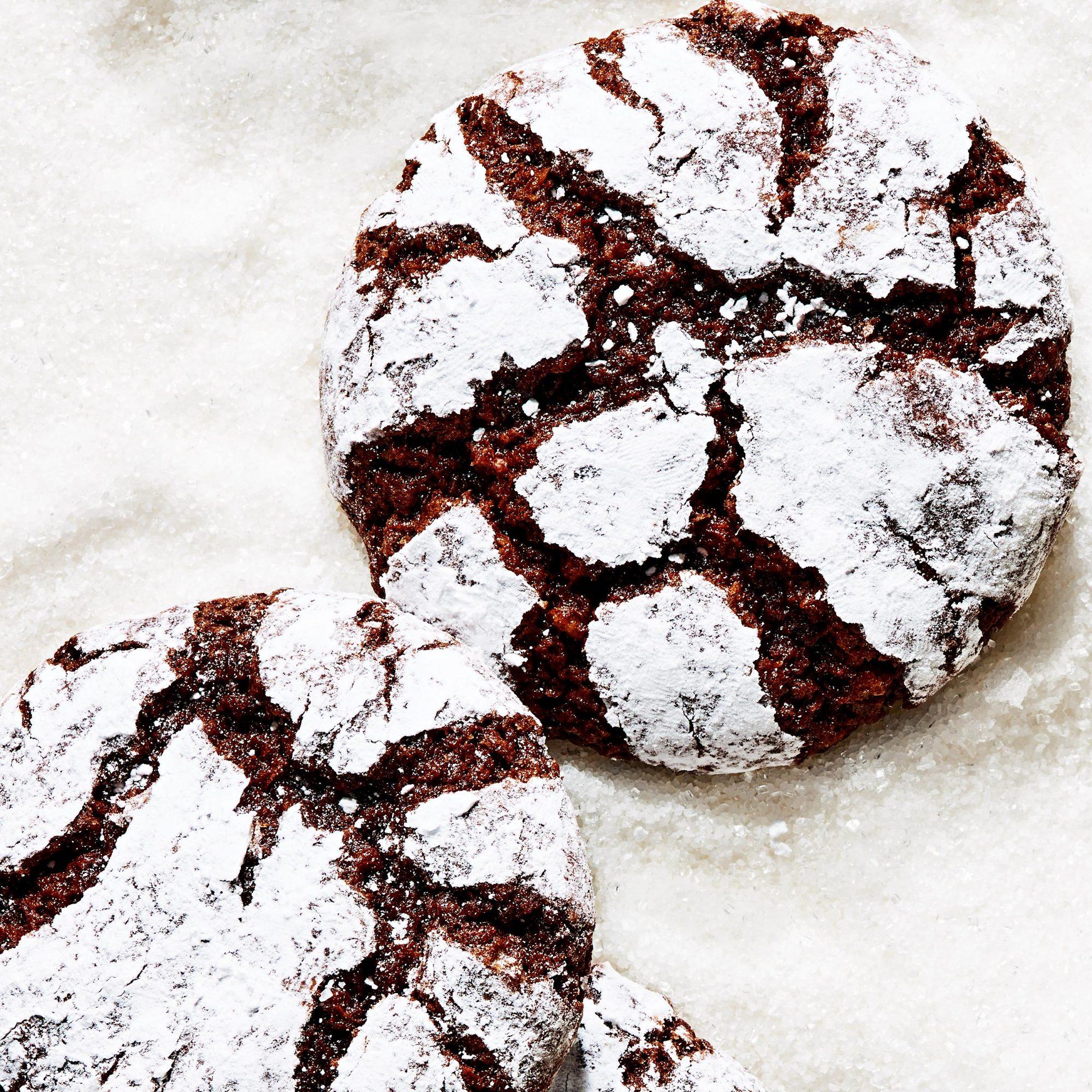 Chocolate-Walnut Crinkles