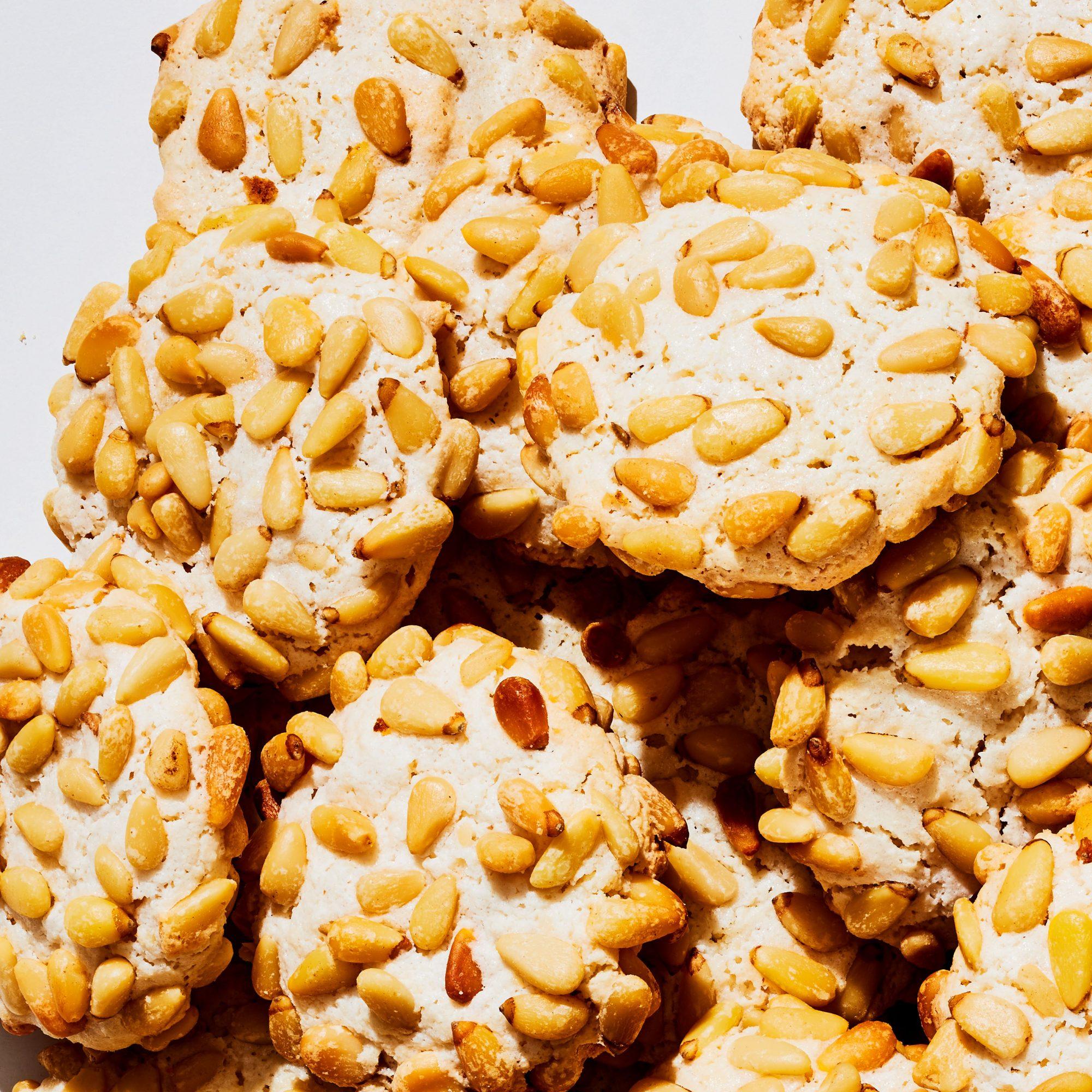 Pignoli Crunch Cookies