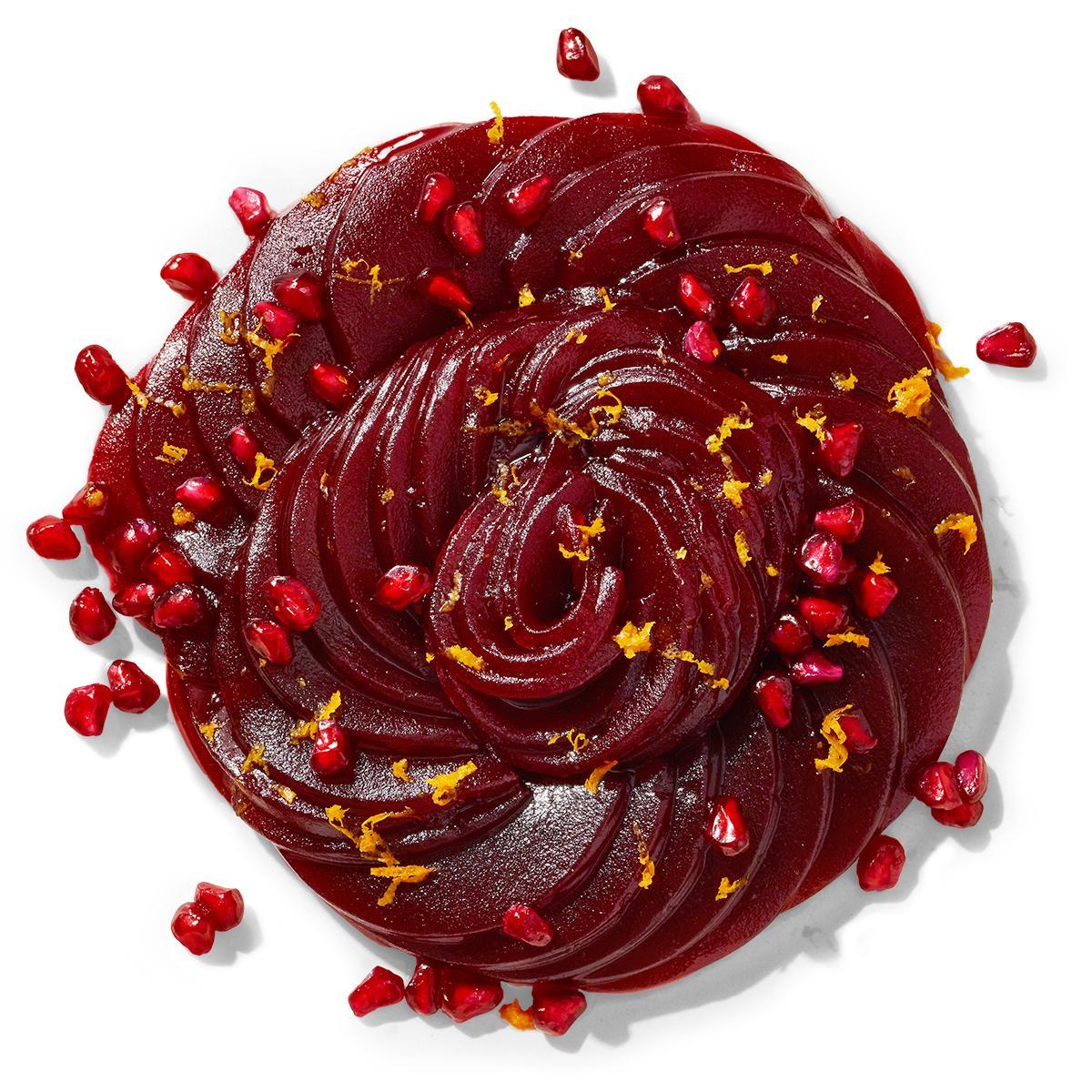 cranberry sauce rose