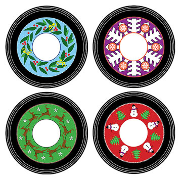 Caroloke CD Coasters