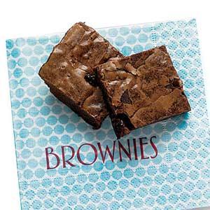 cherry brownie bites