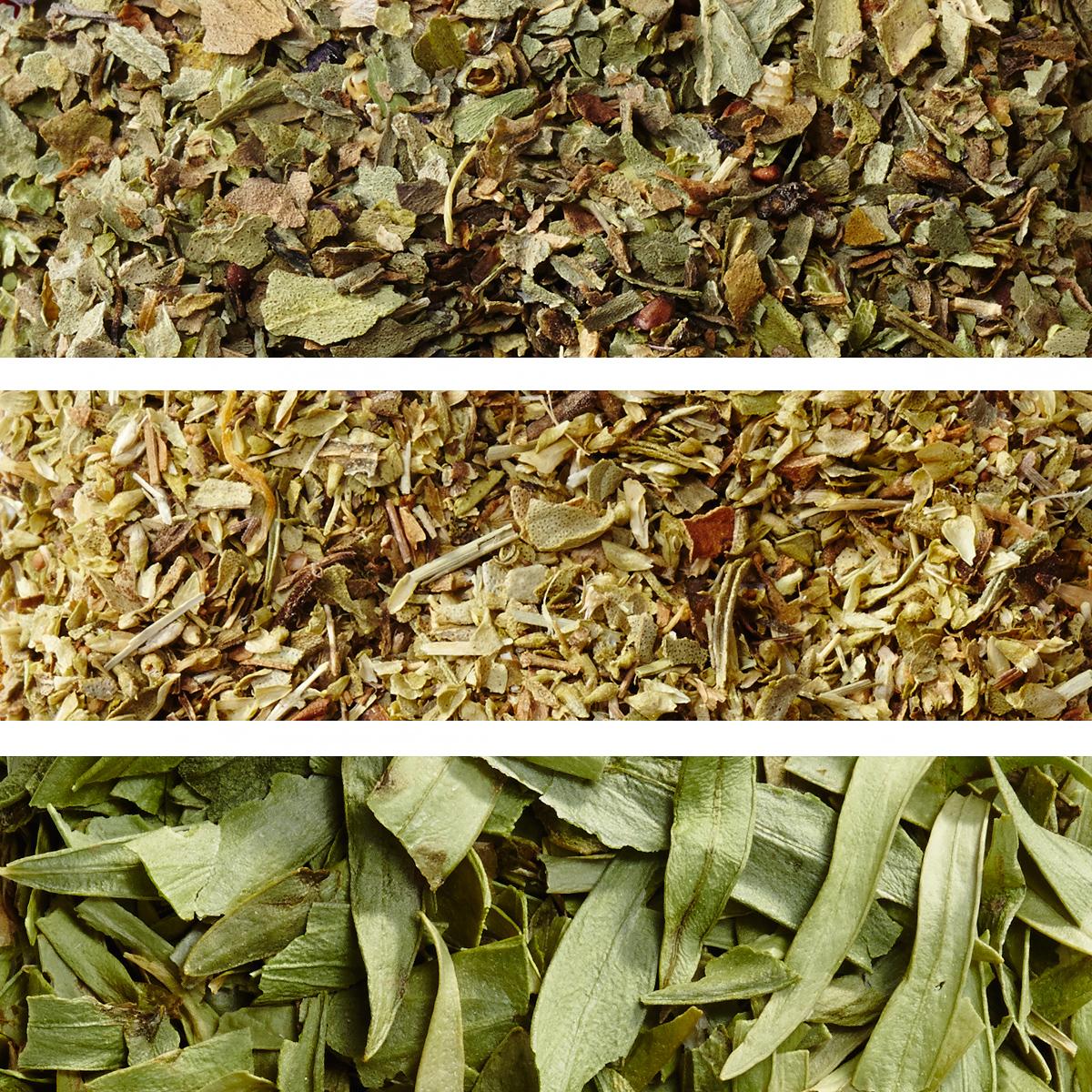 dried basil oregano and tarragon