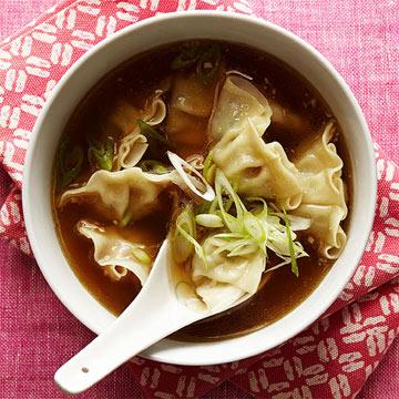 Gingery Wonton Soup