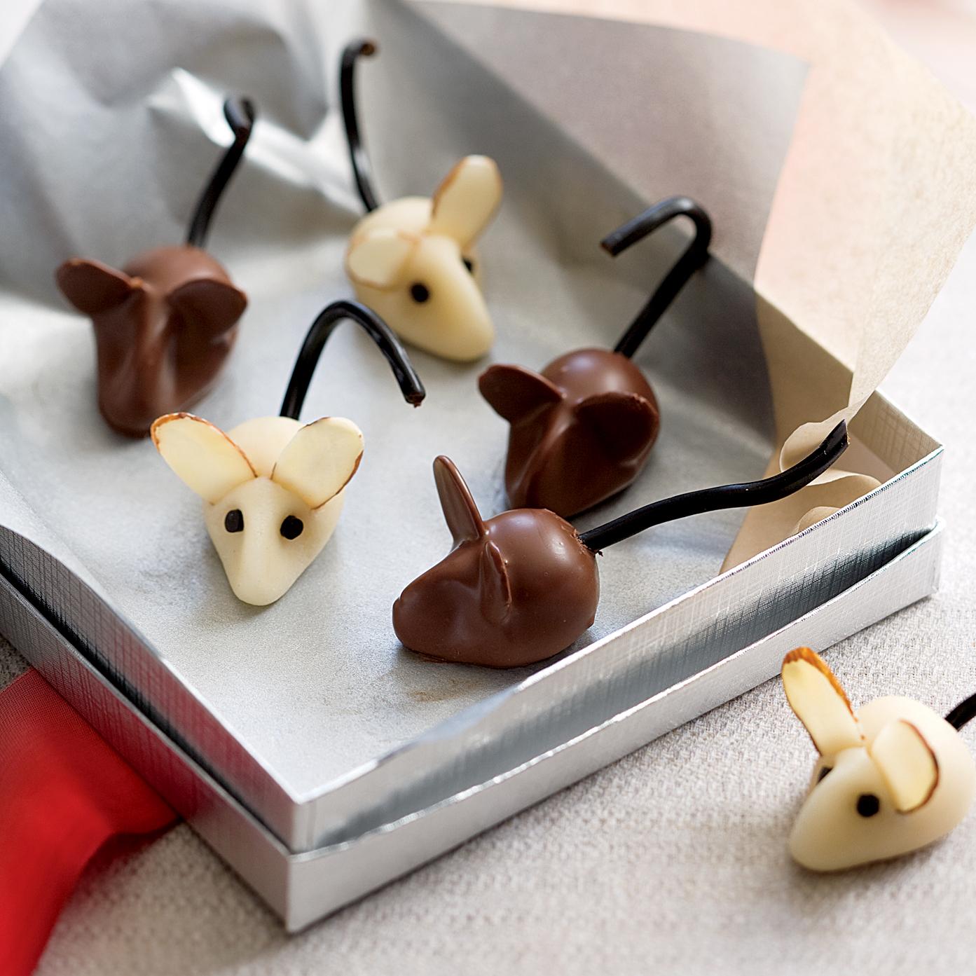 marzipan mice
