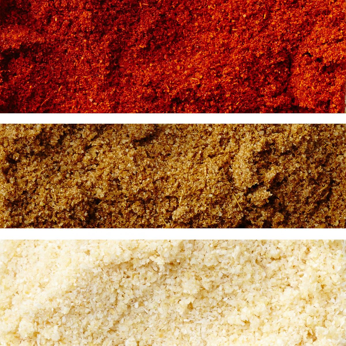 paprika onion powder and cumin