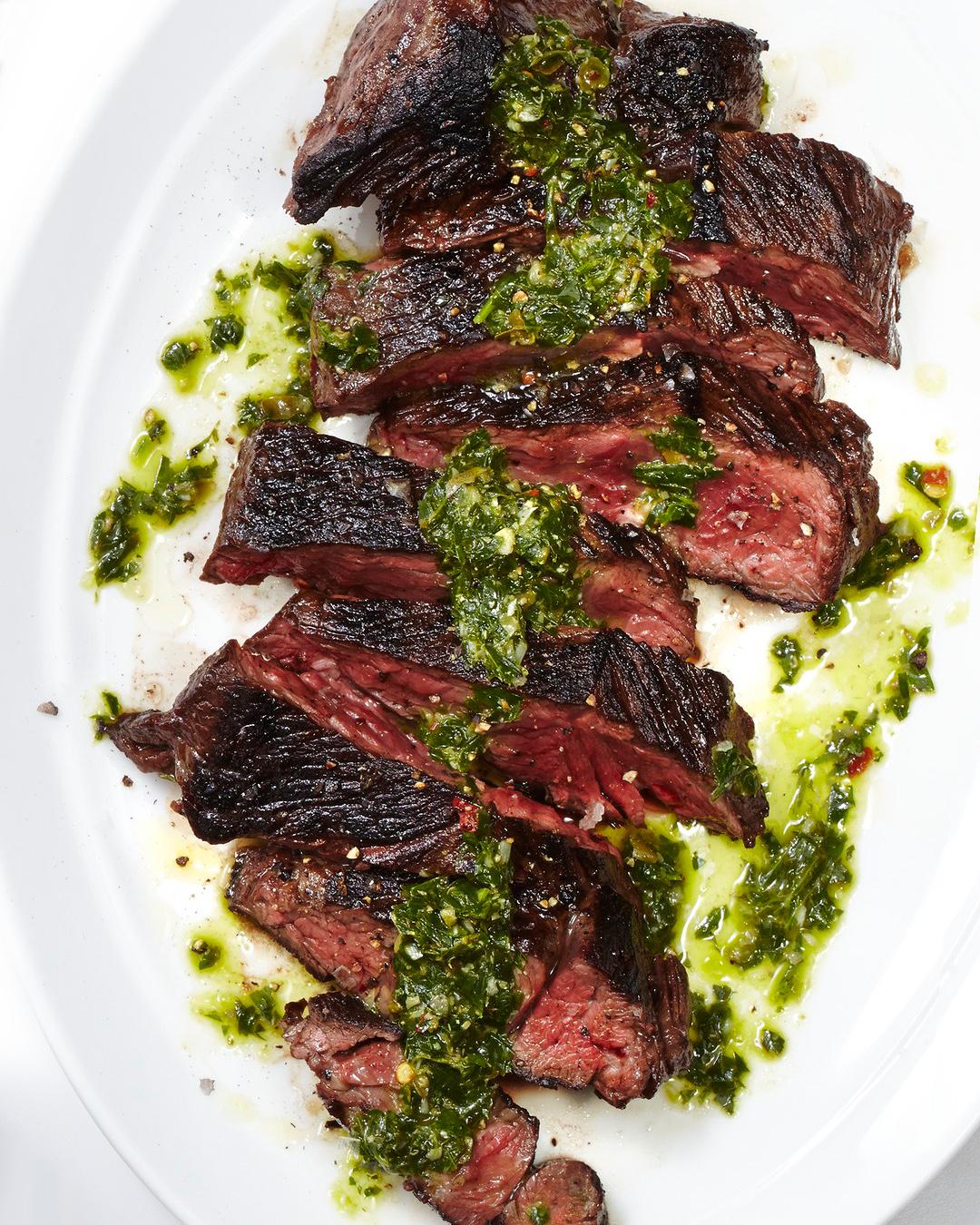 Sliced Hanger Steak