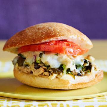 Spinach & Artichoke Tuna Melts