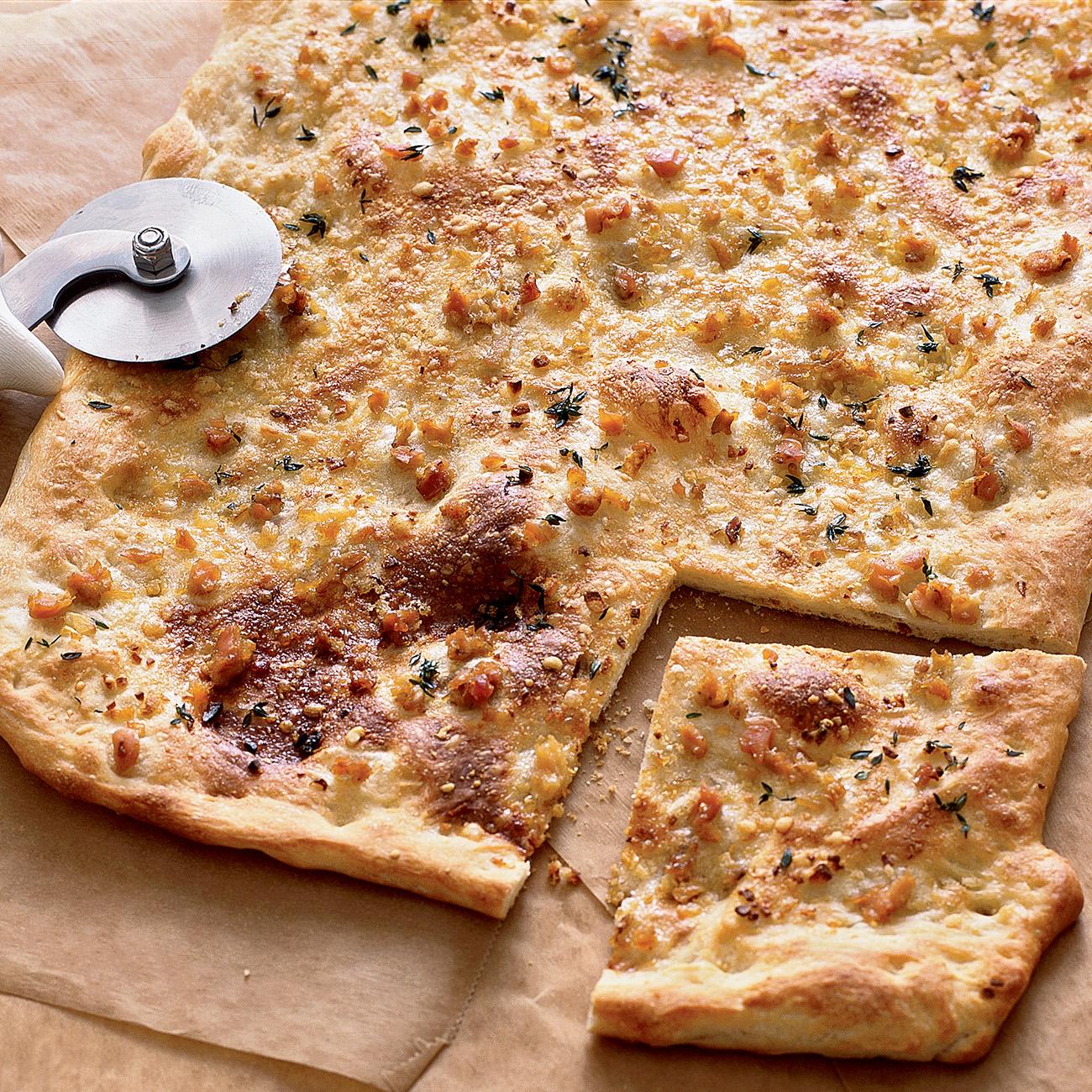 White Clam Pizza