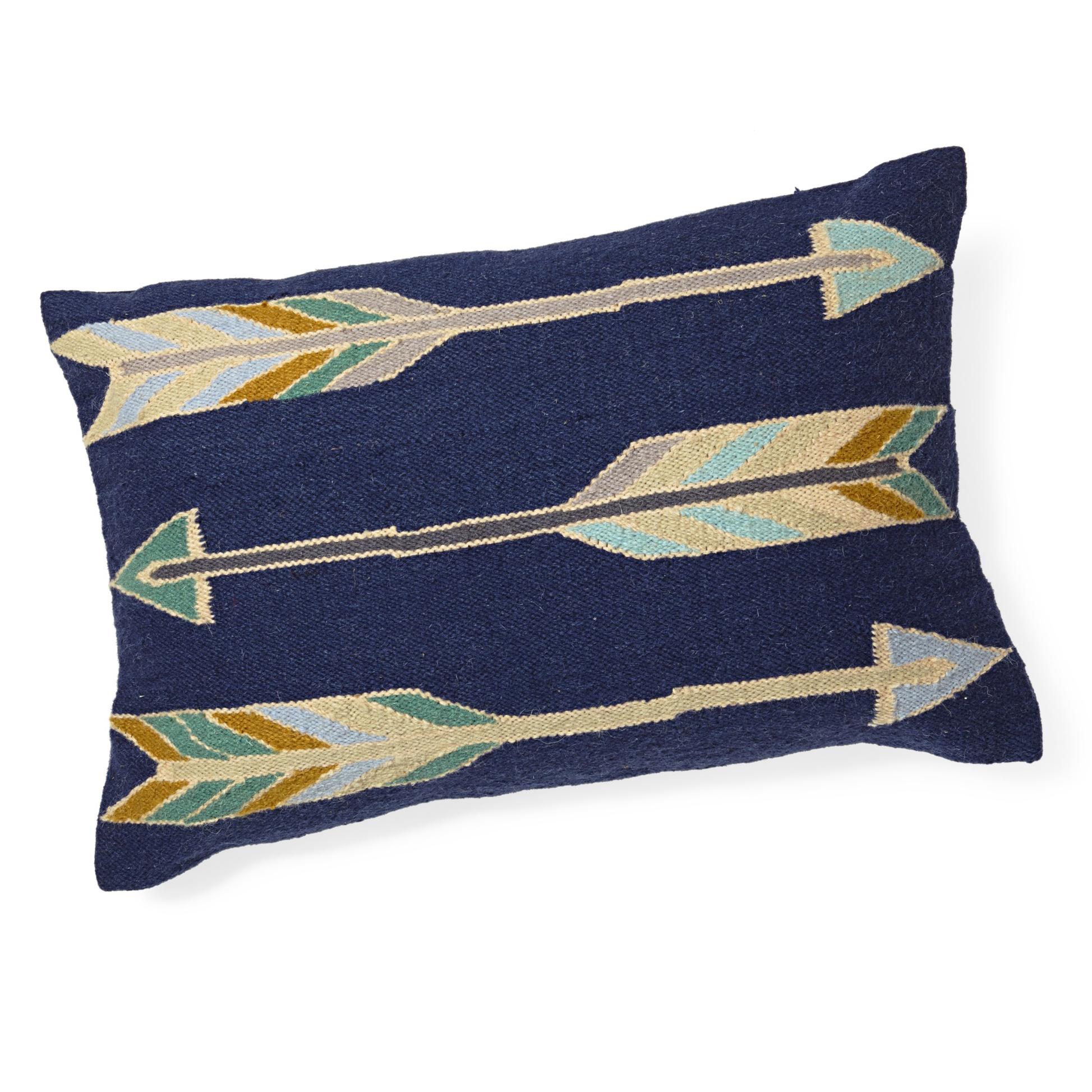 arrow decorative pillow