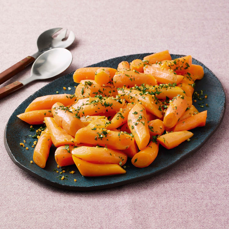 Ginger Beer-Glazed Carrots
