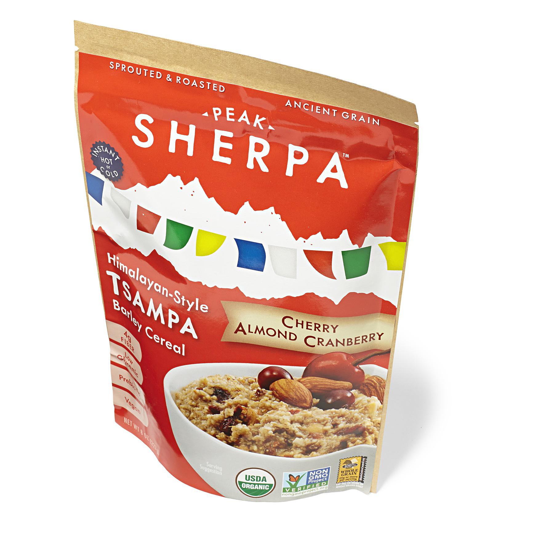 peak sherpa cherry almond cranberry tsampa