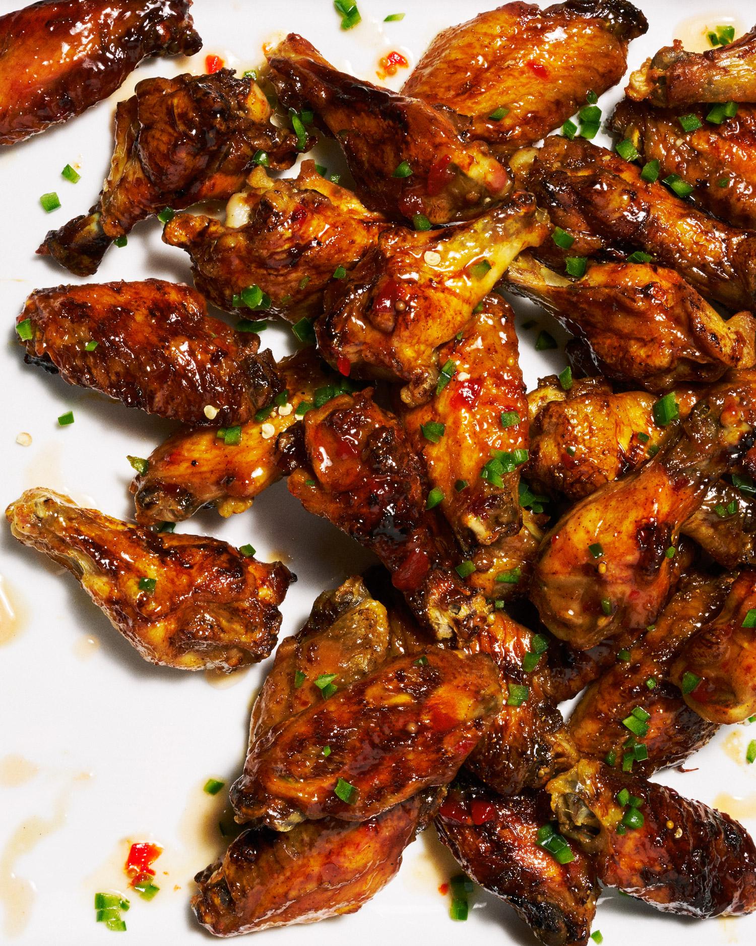 Smokin' Hot Baked Wings