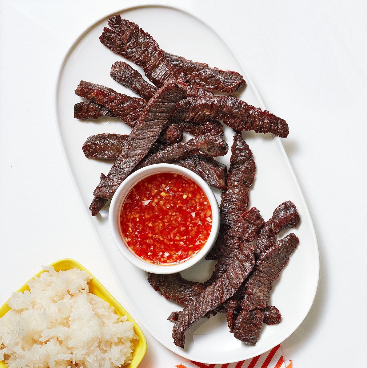 Thai Style Beef Jerky