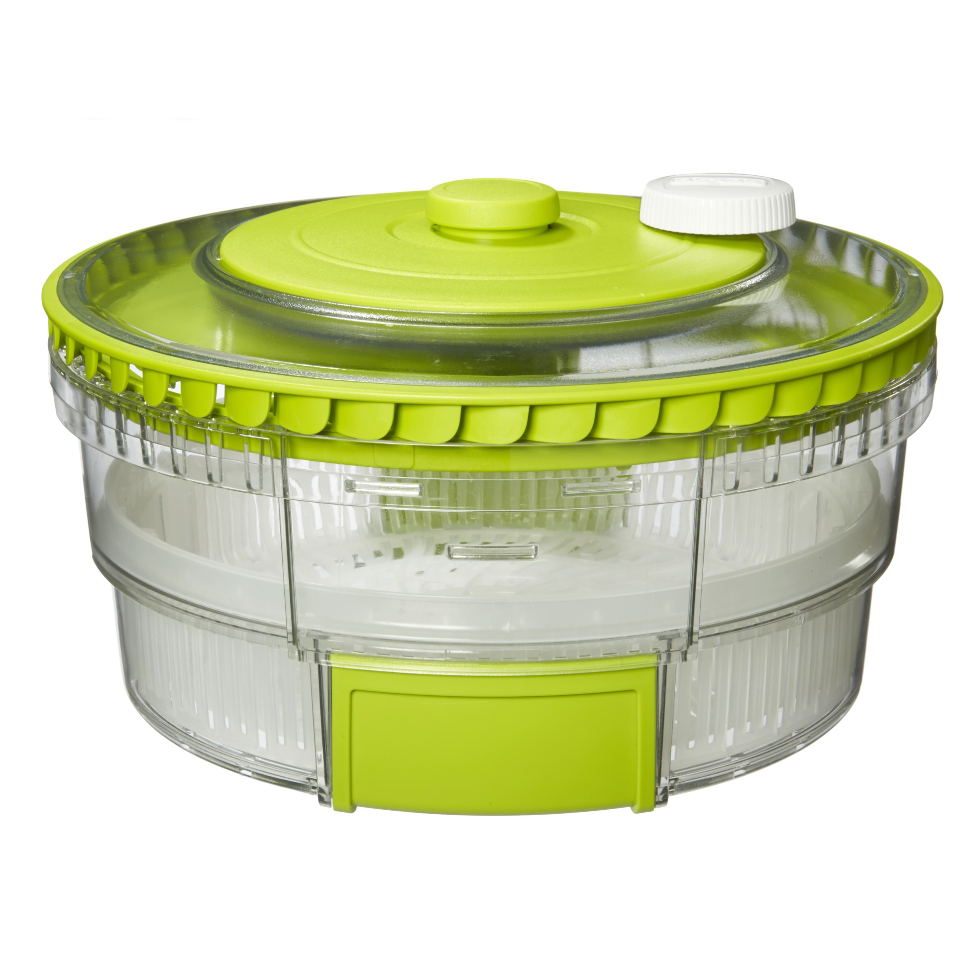 Turbo Fan Collapsible Salad Spinner
