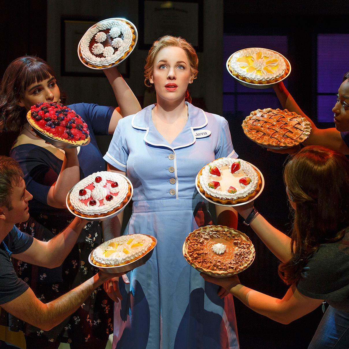 broadway play waitress