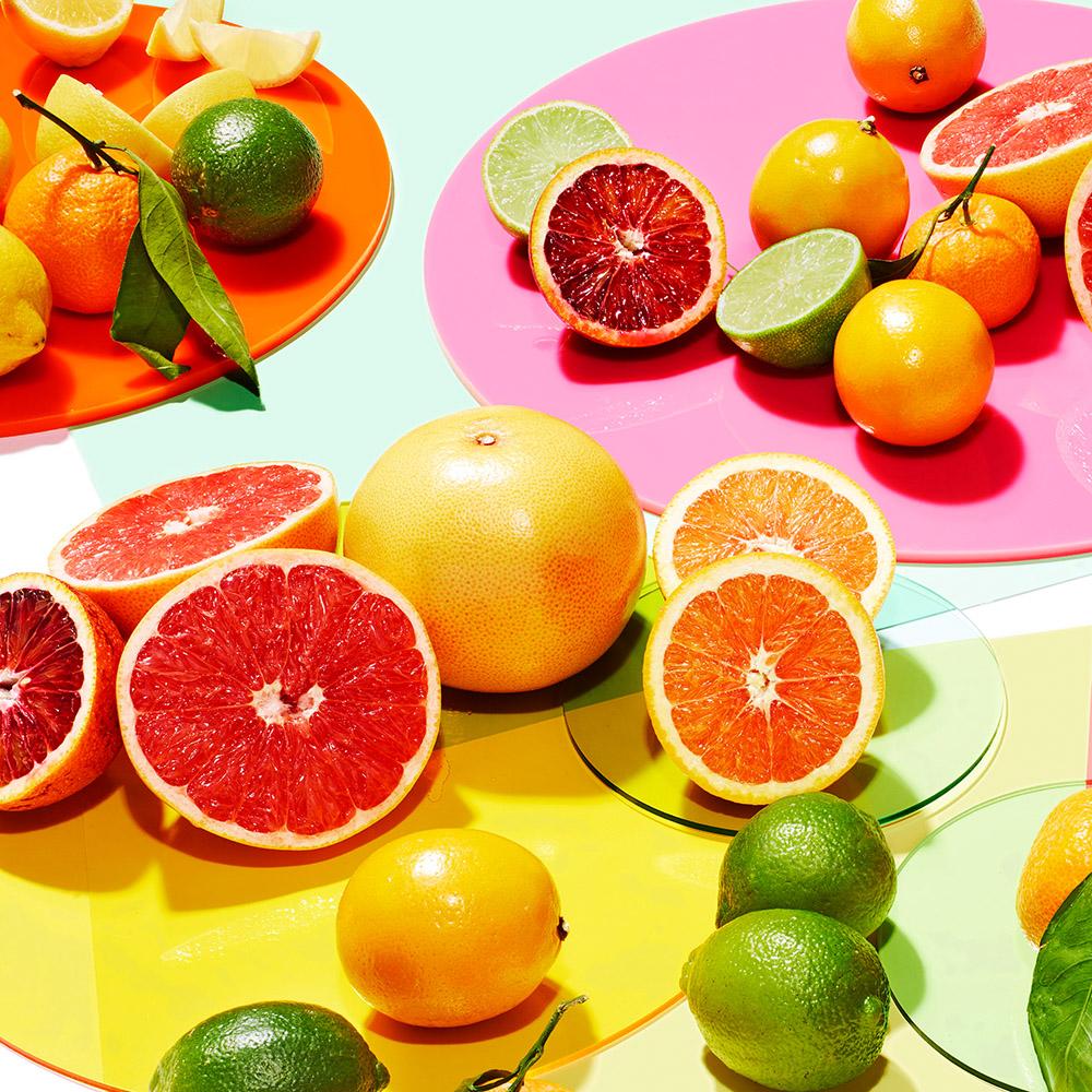 citrus lime lemon grapefruit orange