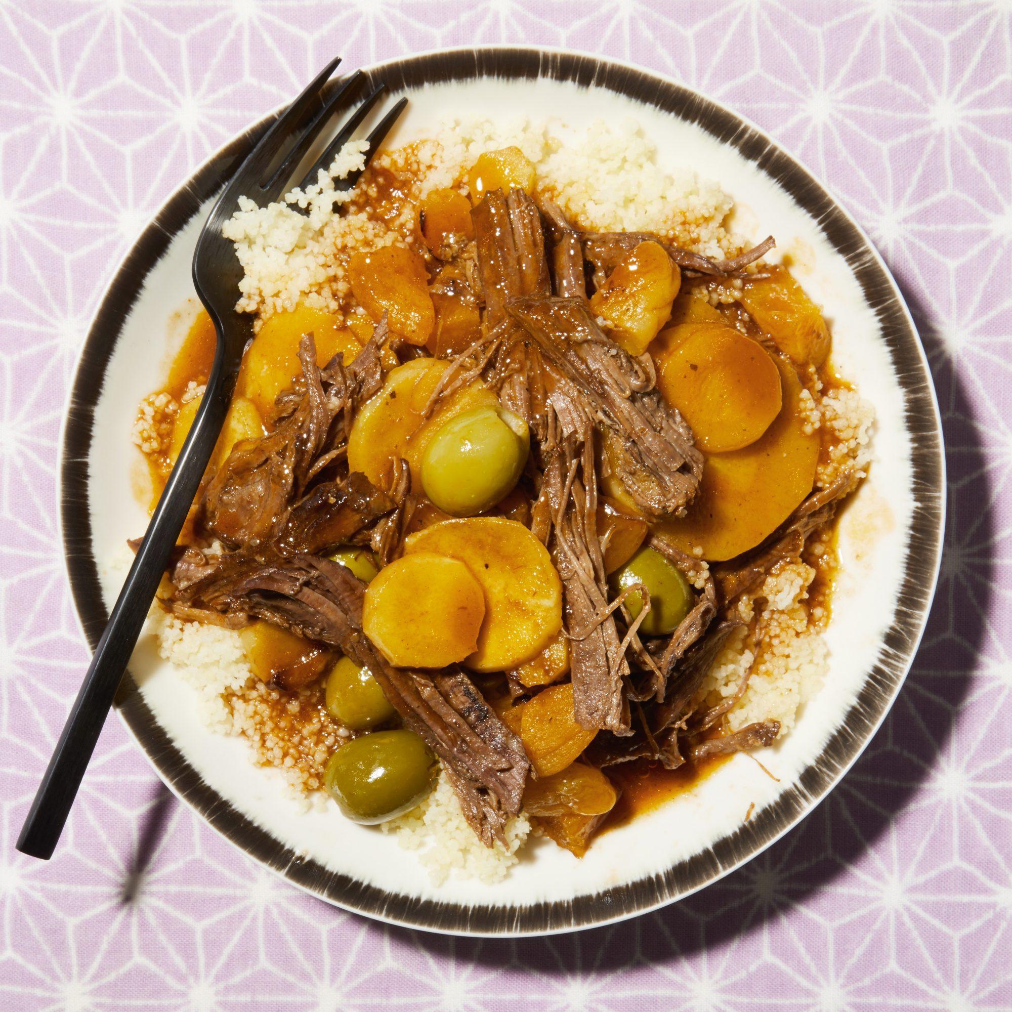 moroccan brisket stew
