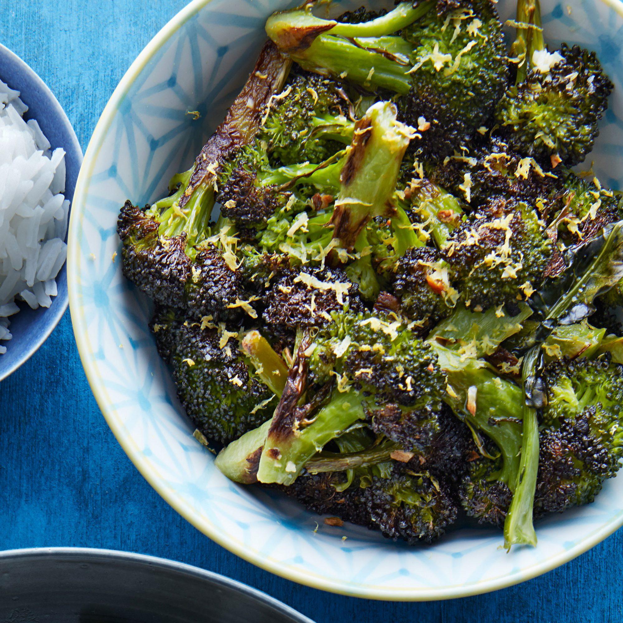 quick roasted broccoli