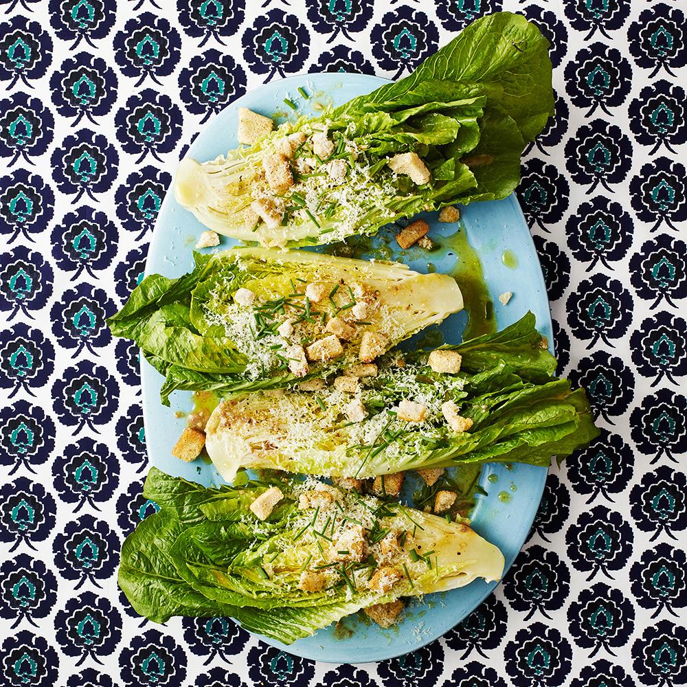 Romaine Wedge Caesar Salad