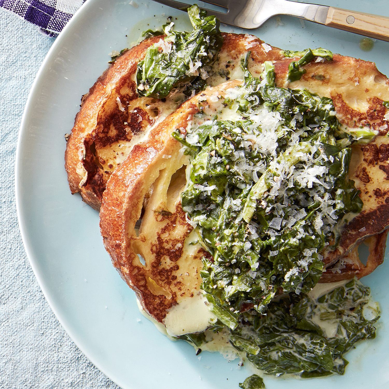 savory french toast simple creamed spinach