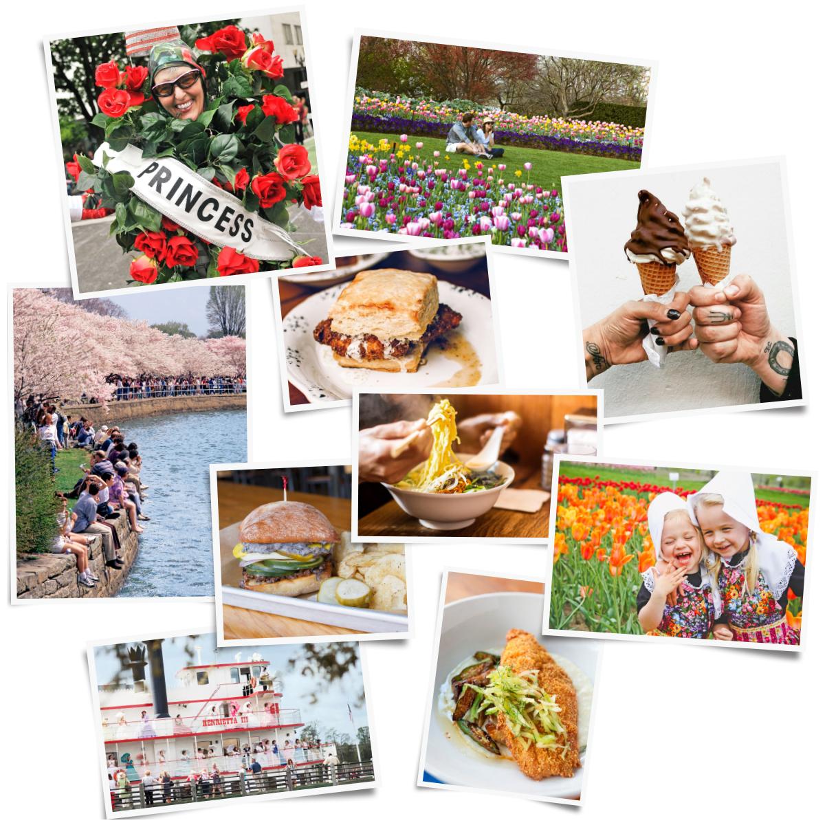 best spring flower festivals comp